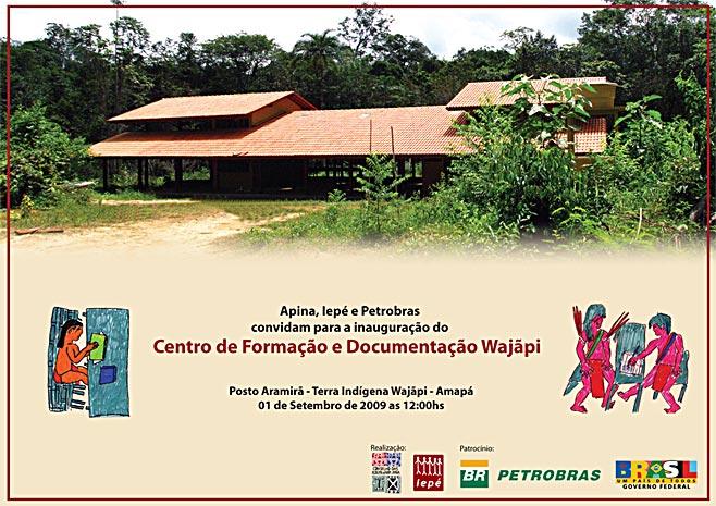 Convite-Centro-de-Formacao-e-Documentacao-Waja pi