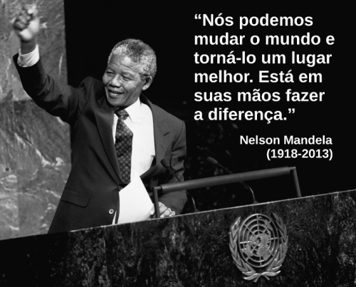 Nelson Mandela em 2009.