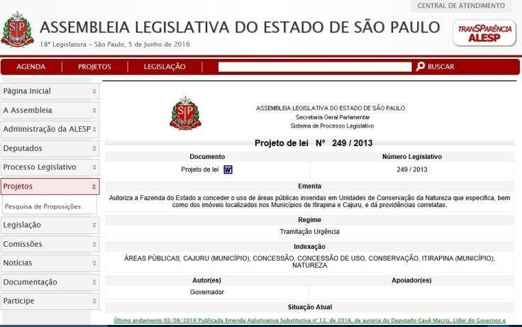 projeto lei