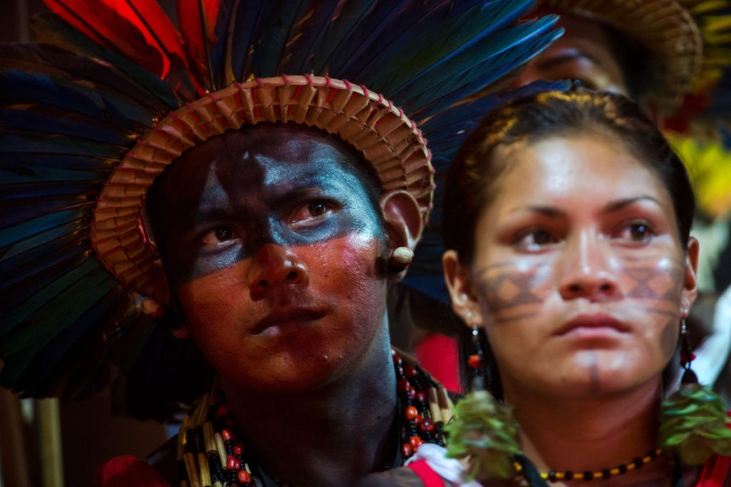 Palmas (TO) - Índio da etnia Bororo Boé (Marcelo Camargo/Agência Brasil)
