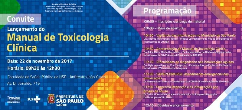 1 - Convite e Programacao Lancamento Manual Toxicologia