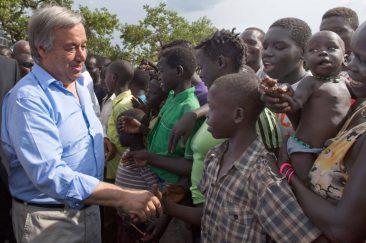 SG visits Imvepi Camp, Uganda