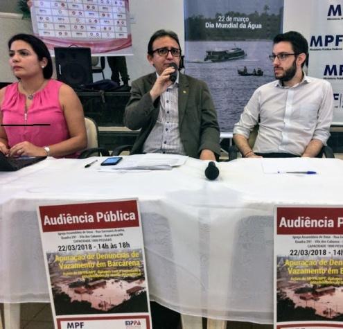 Audiência Pública HYDRO ALUNORTE. Foto: ASCOM/MPF