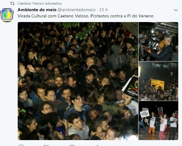 Twitter de Caetano Veloso