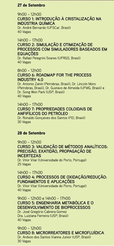 Encontro Brasileiro sobre o Ensino de Engenharia Química