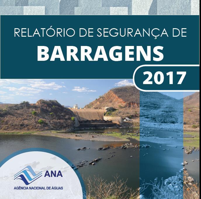 capa relatório de segurança de barragens 2017