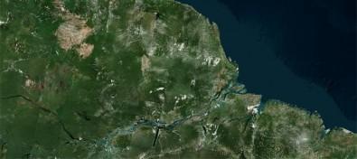 amazonaia bing map